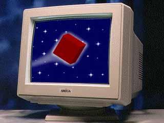 Large Amiga Monitor