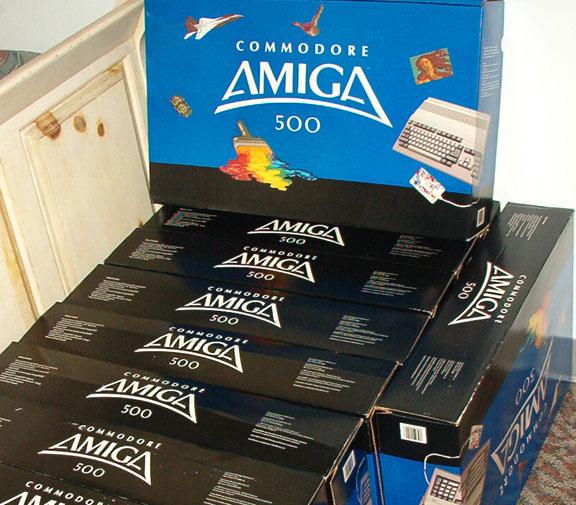 Amiga 500 NOS(New Old Stock) - 6/03