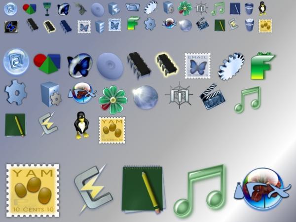 Icon Comparison (size Comparison)