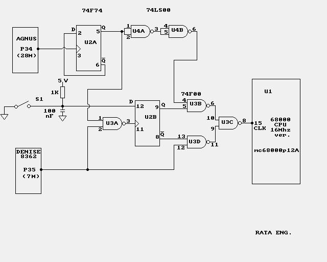A500/A2000 CPU at 14MHz