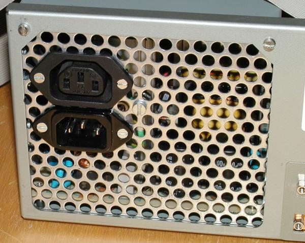 A4000 modified power supply
