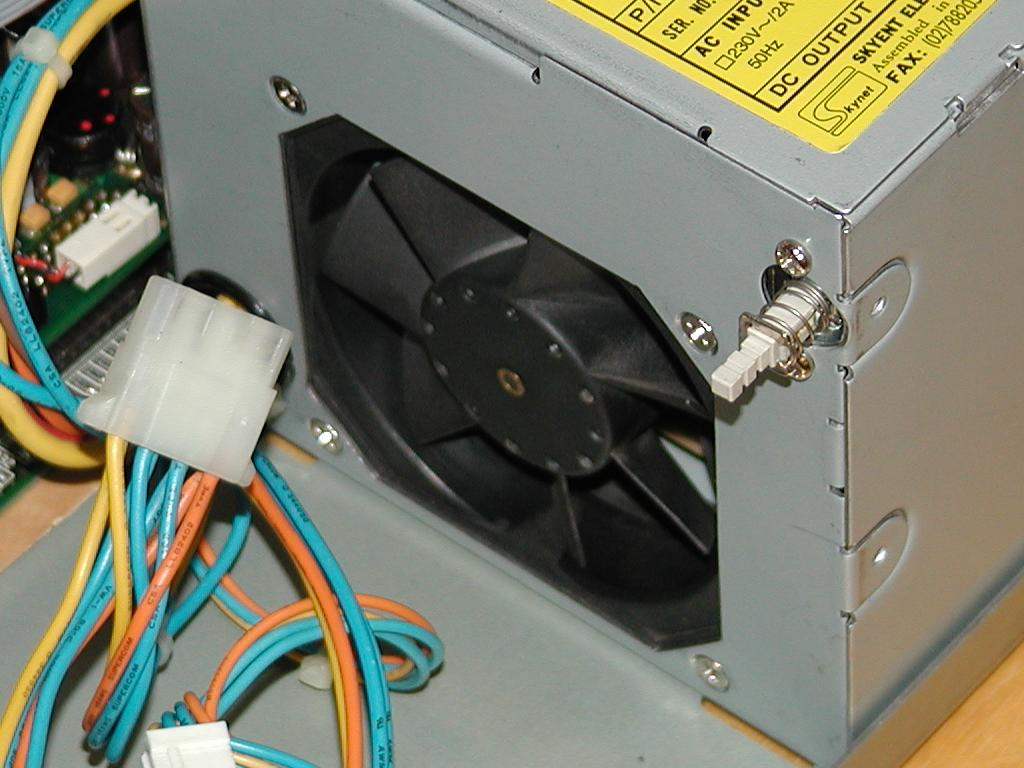 Another modification to the A4000D power supply