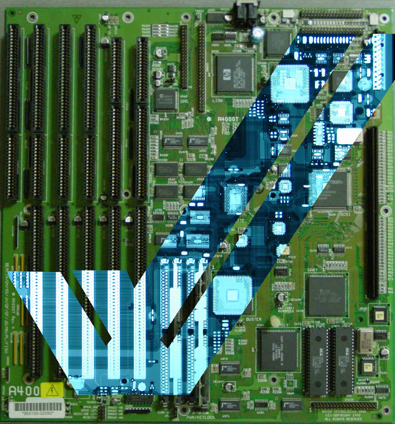 A4000T motherboard