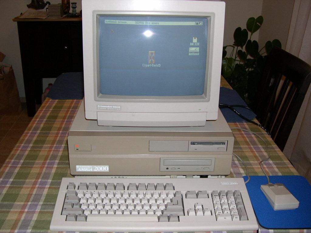Amiga 2000 with CD-ROM pic 1