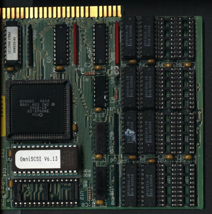 A2091 with Guru Rom Installed
