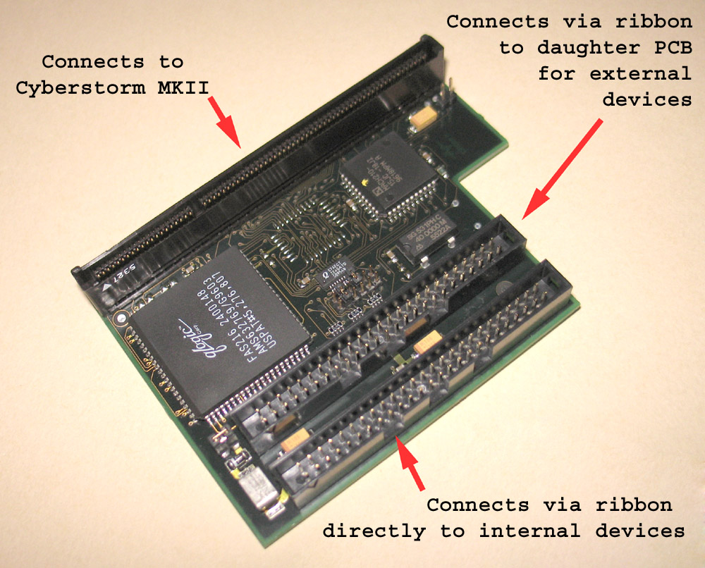 CyberSCSI Main PCB