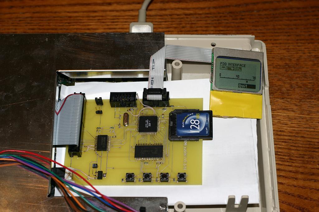 Floppy emulator: replacing A500's internal DF0