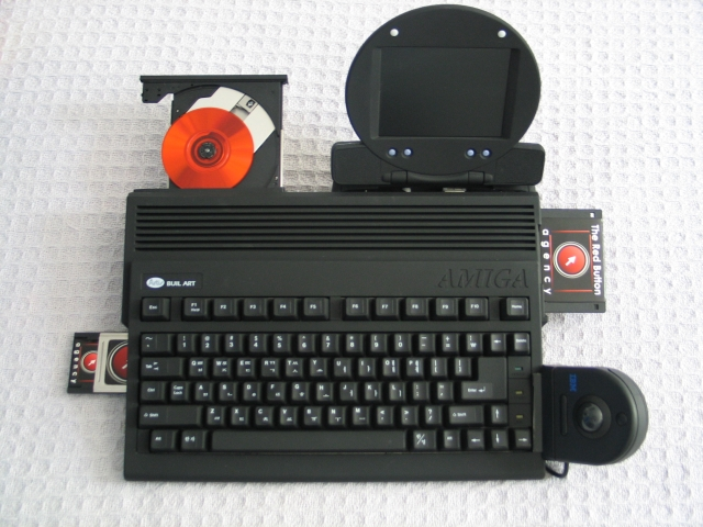 Red Button A600 with LCD