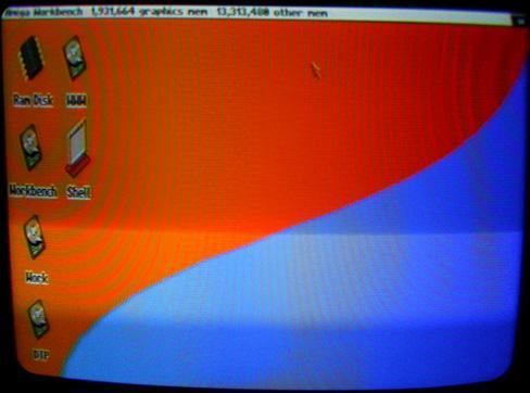 Amiga 1200 - Workbench