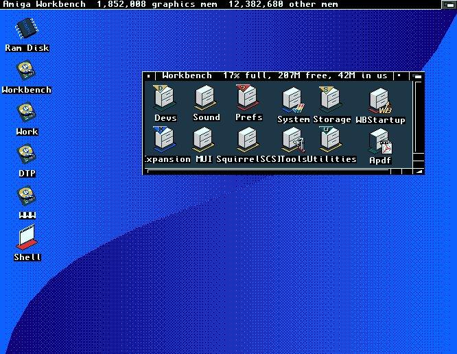 Amiga 1200 - MagicTV