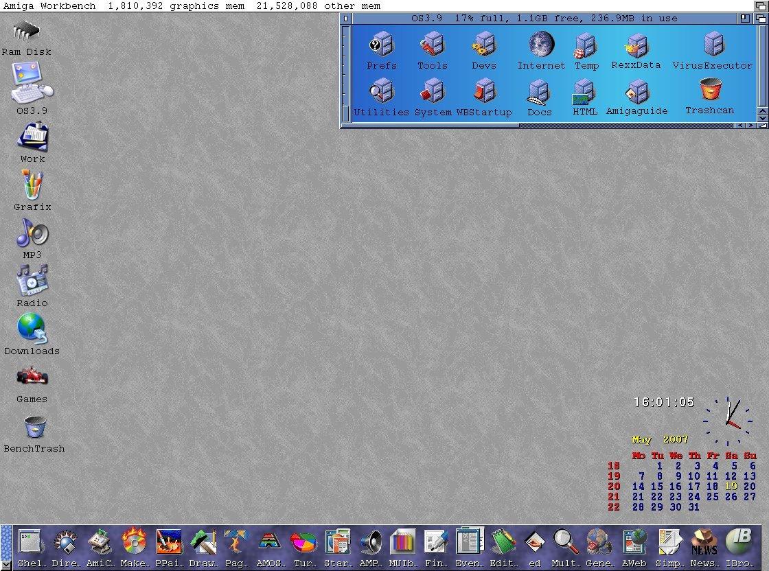 My Amiga 1200 OS3.9