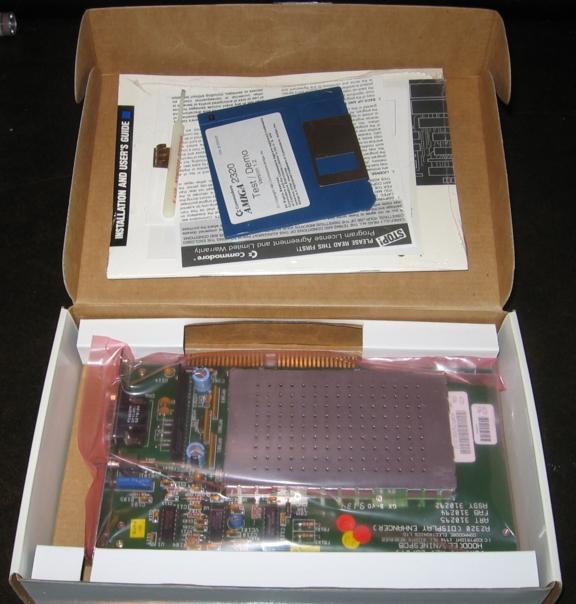Amiga 2320 Flicker Fixer (Amber Board) New in Box