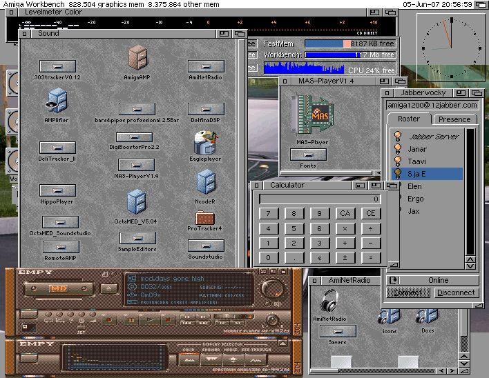 WB 3.9 on real Amiga 1200