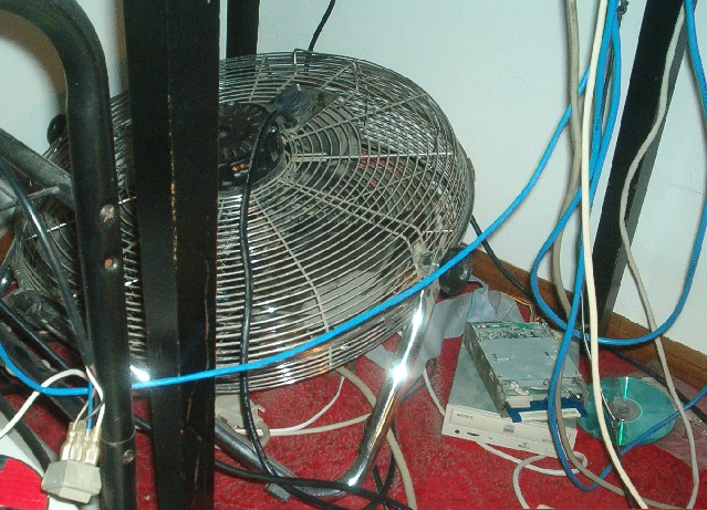 So you think the fan on your PPC chip is big enough...