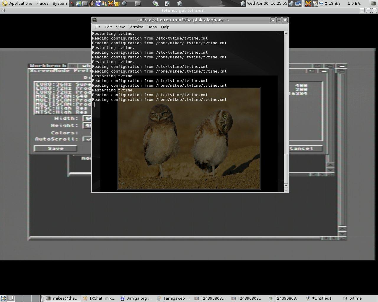 Amiga 1200 - Tvtime