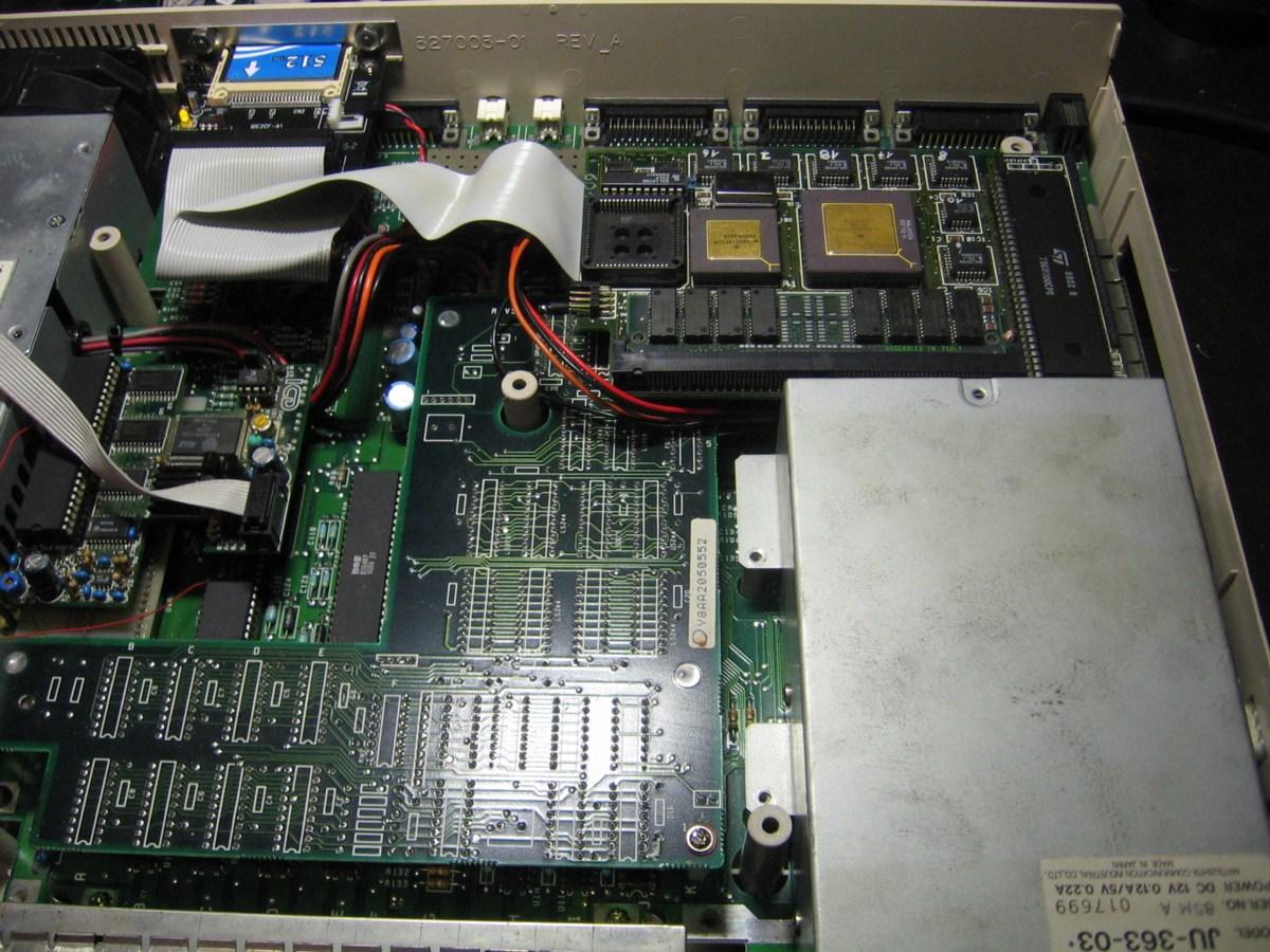 Amiga 1000 MTec 68020i ICD FFV2 and AdIDE