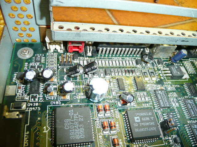 A4000D Capacitor replacement