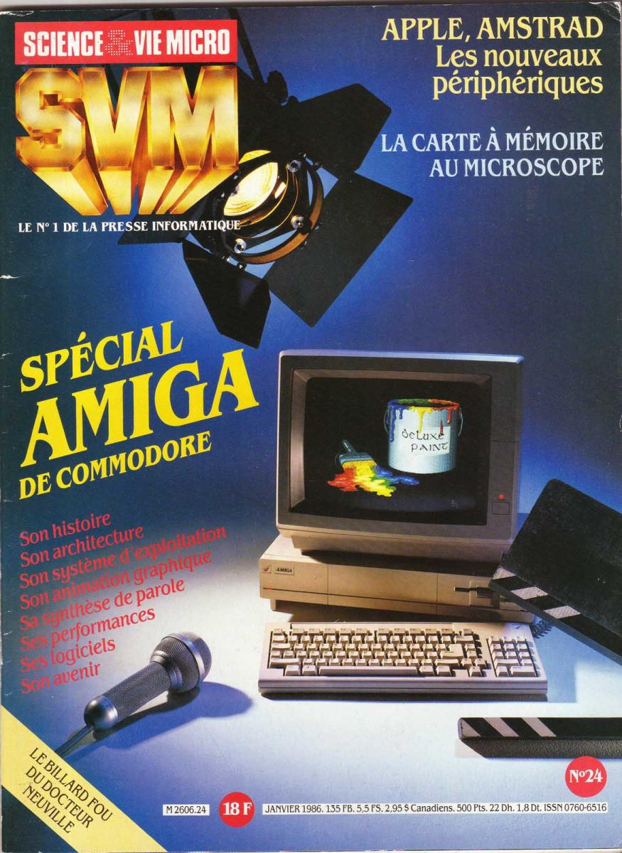 French Magazine Featuring the Amiga1000