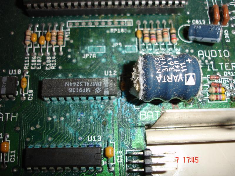 Leaky Battery (A500 Plus) Beware!