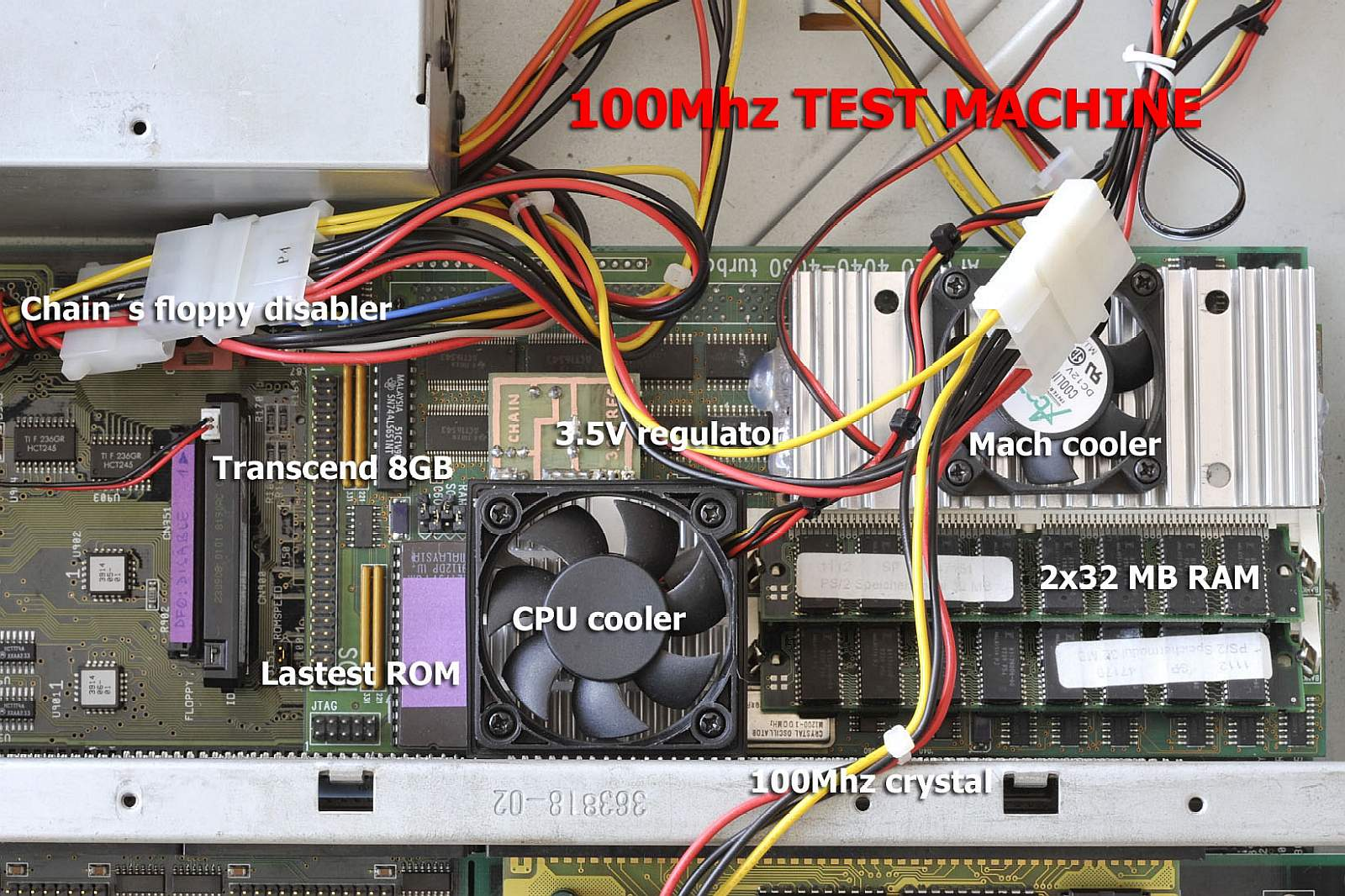 100 MHz cooling