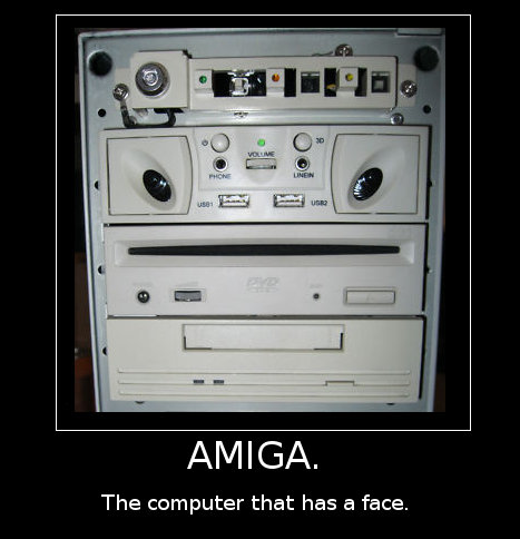 The computer that has a face.