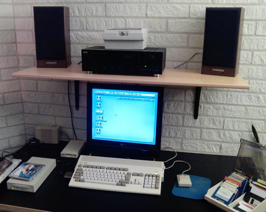 Amiga 1200 Setup