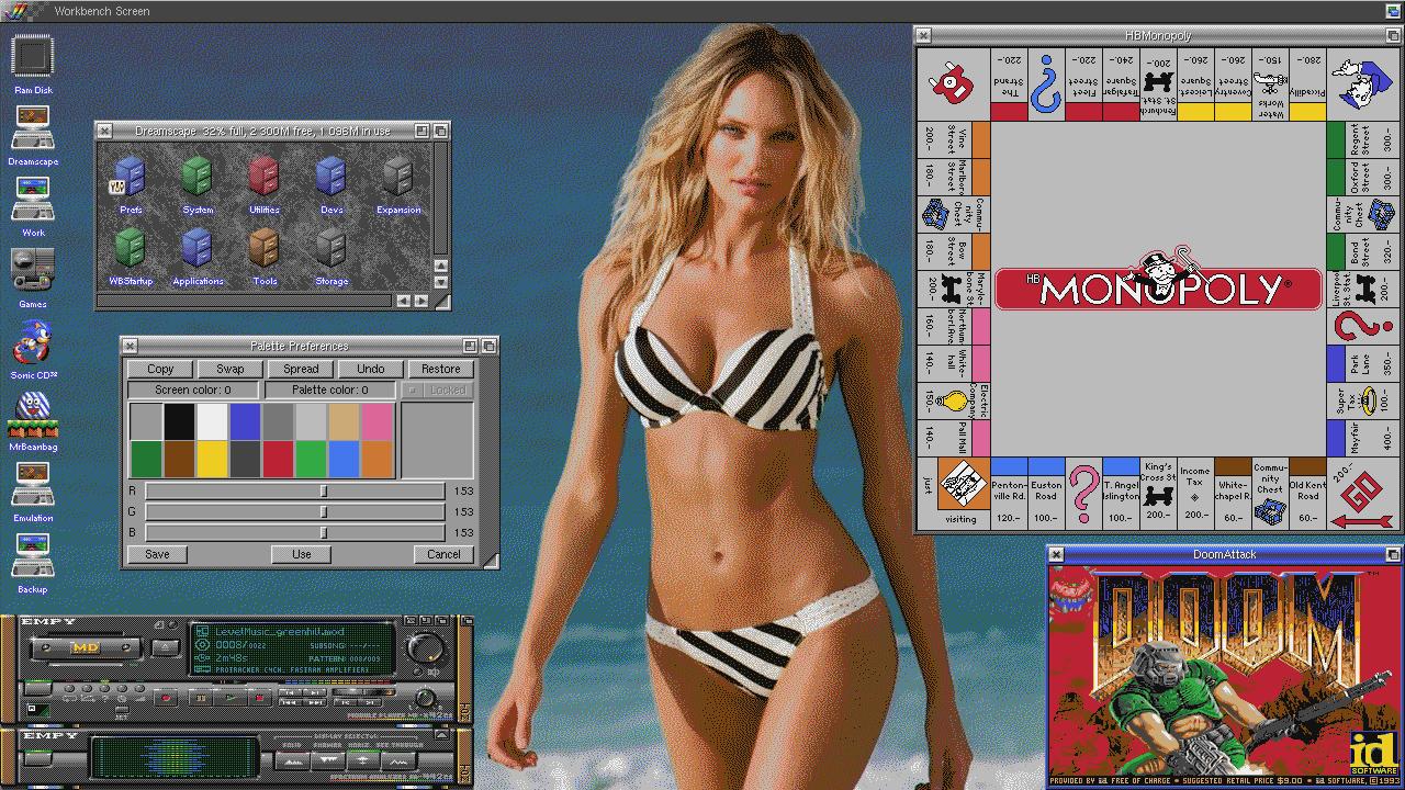 Bikini Girl Workbench