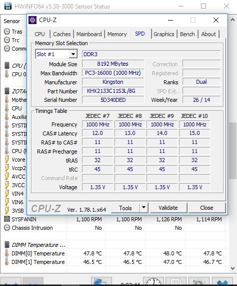 DDR3 Thermal Sensor