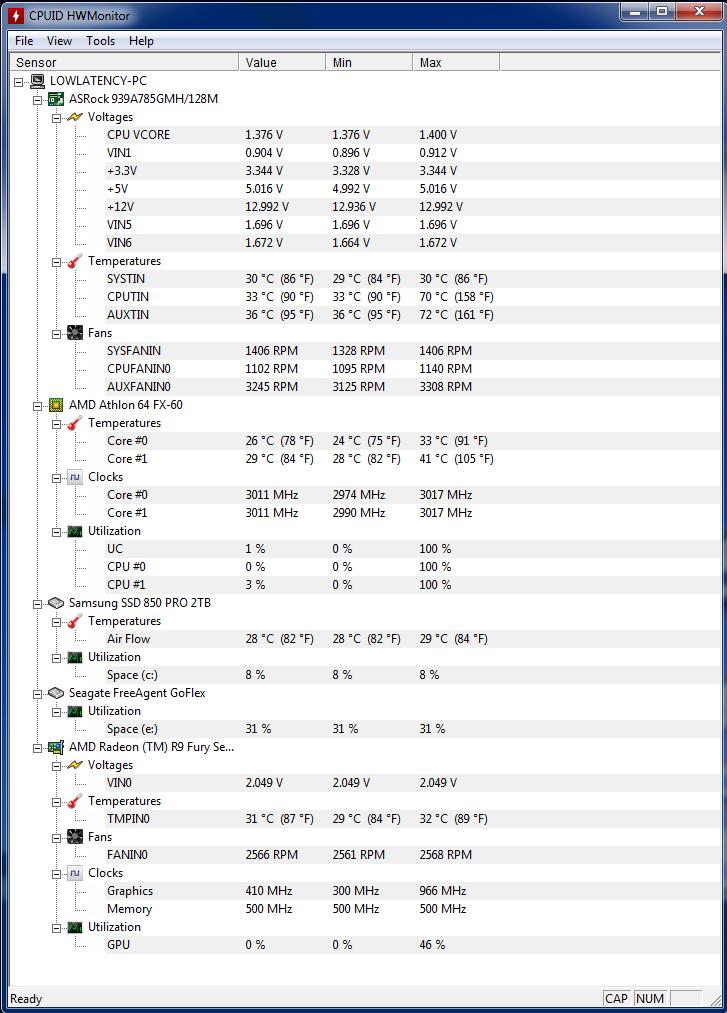 AMD FX60 3GHz