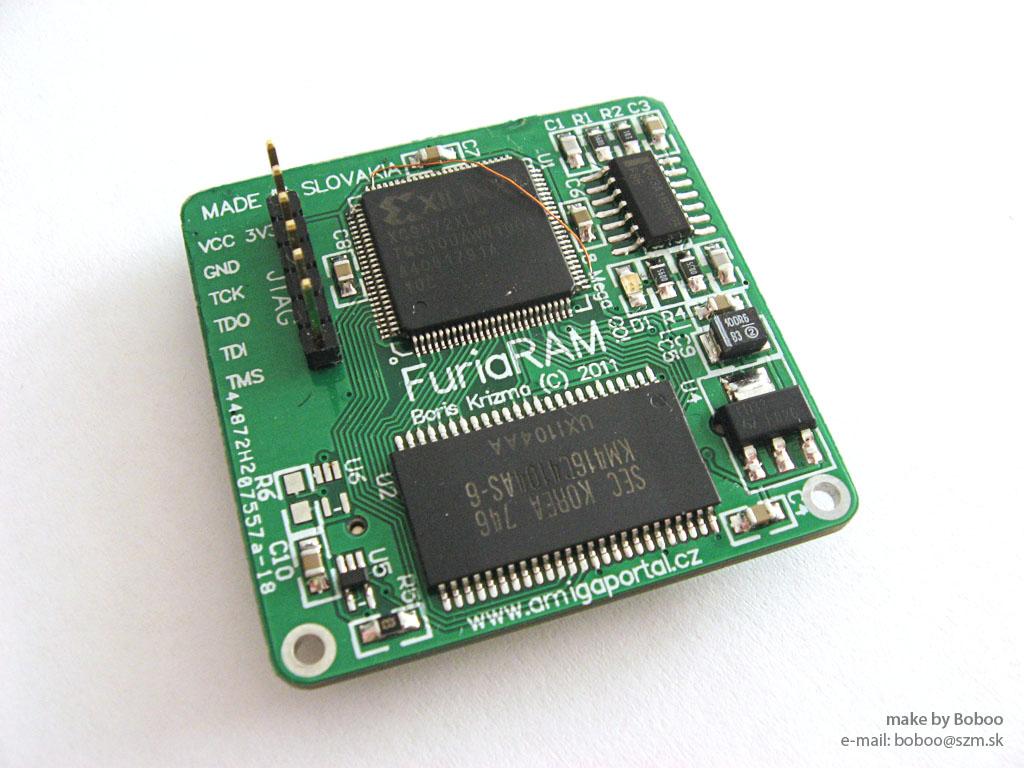 8MB FastRAM for FuriaS628 accelerator