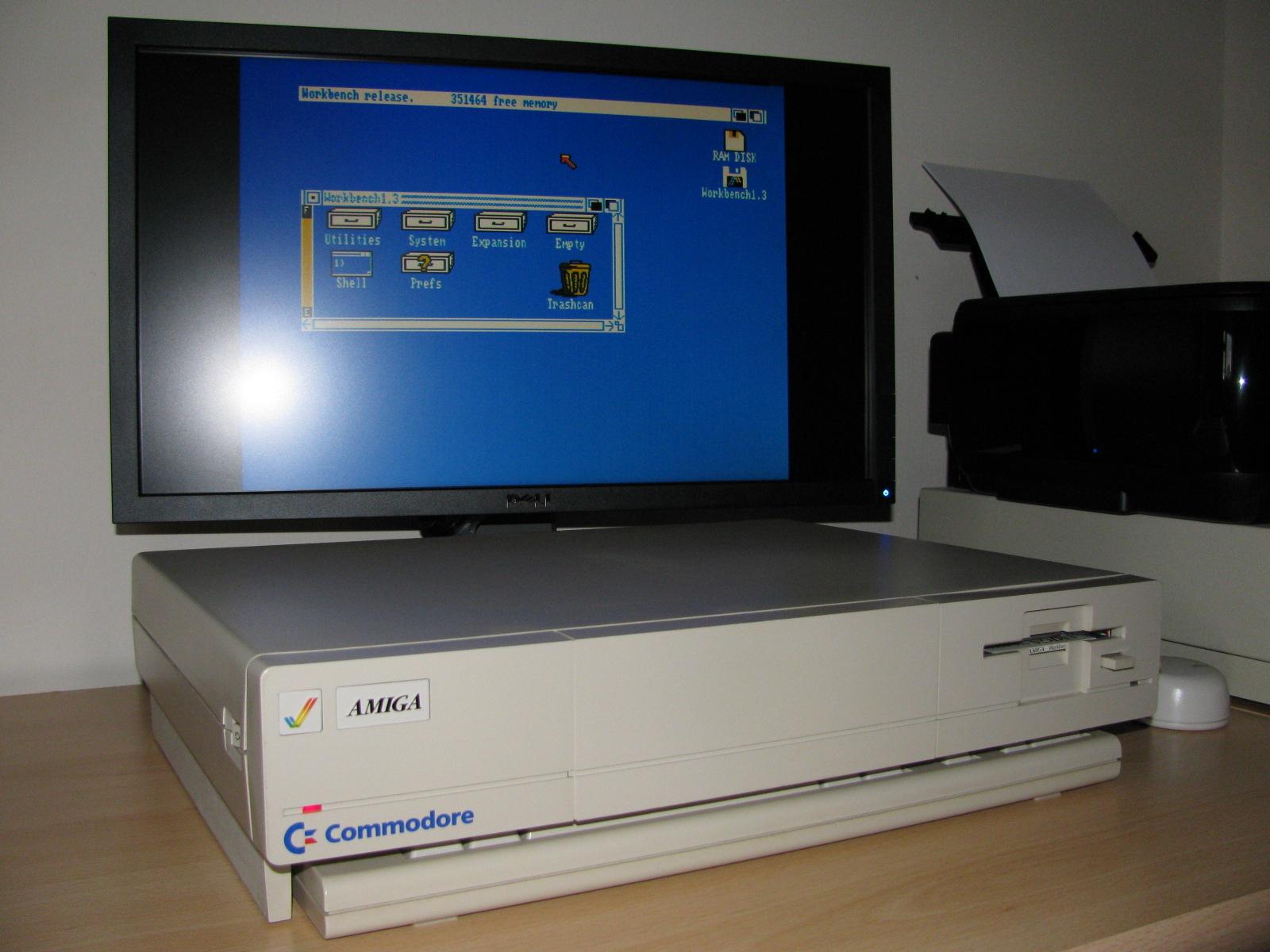 Amiga 1000 Workbench 1.3