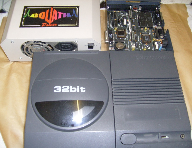 CD32/SX-1 & Goliath