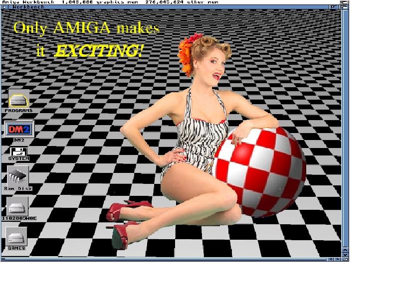 ImageFX designed WinUAE Workbench Backdrop