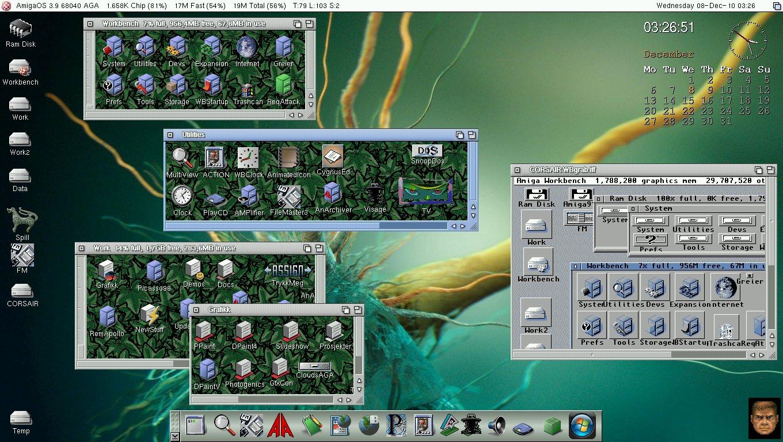 My main Amiga 1200 - AOS 3.9