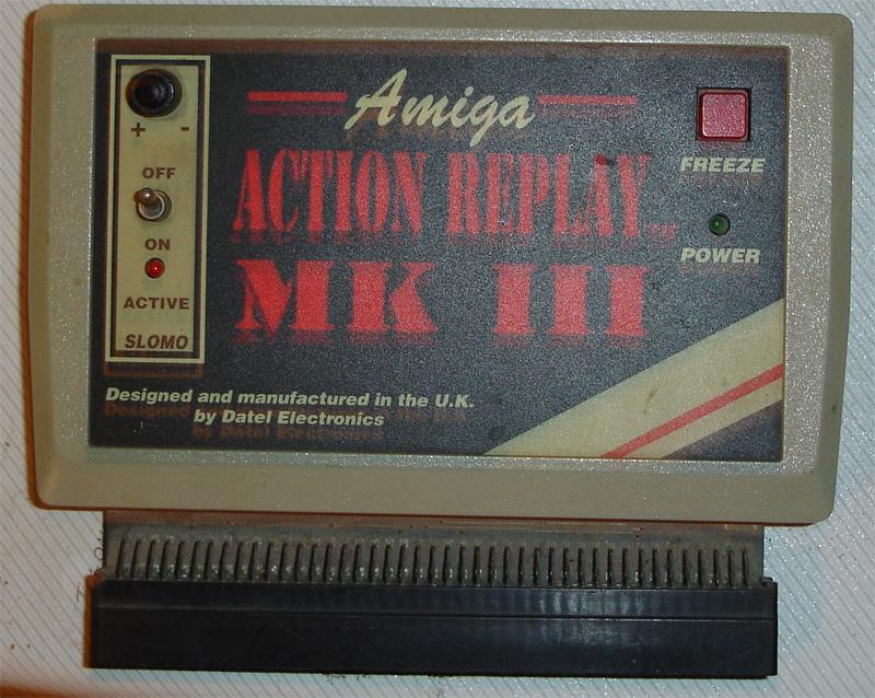 Amiga Action Replay III