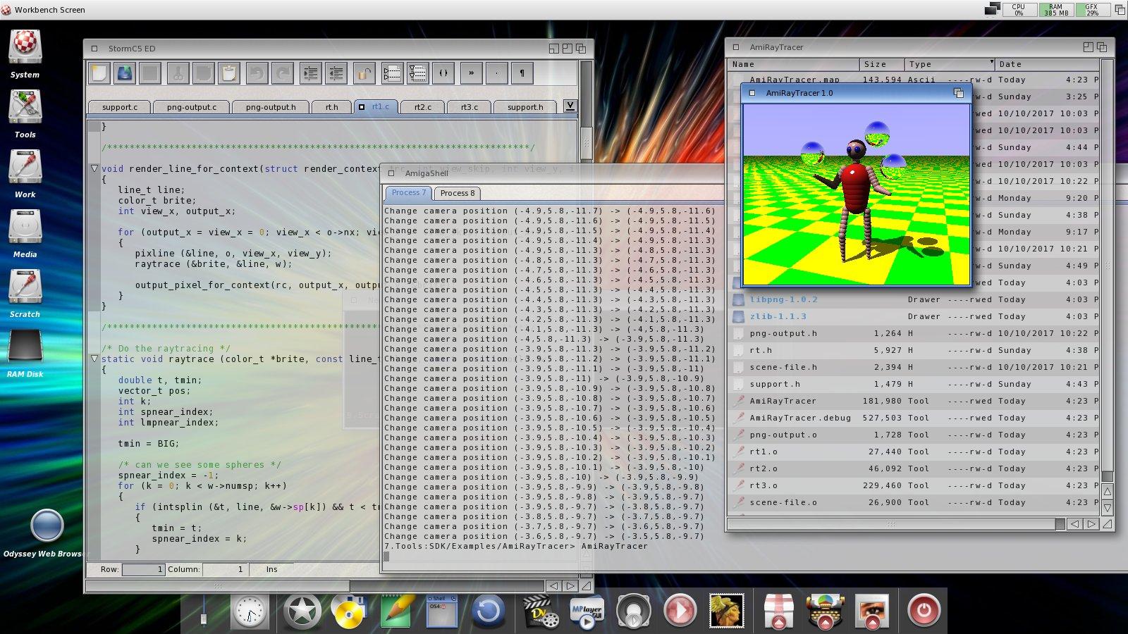 'The Juggler' demo source code
