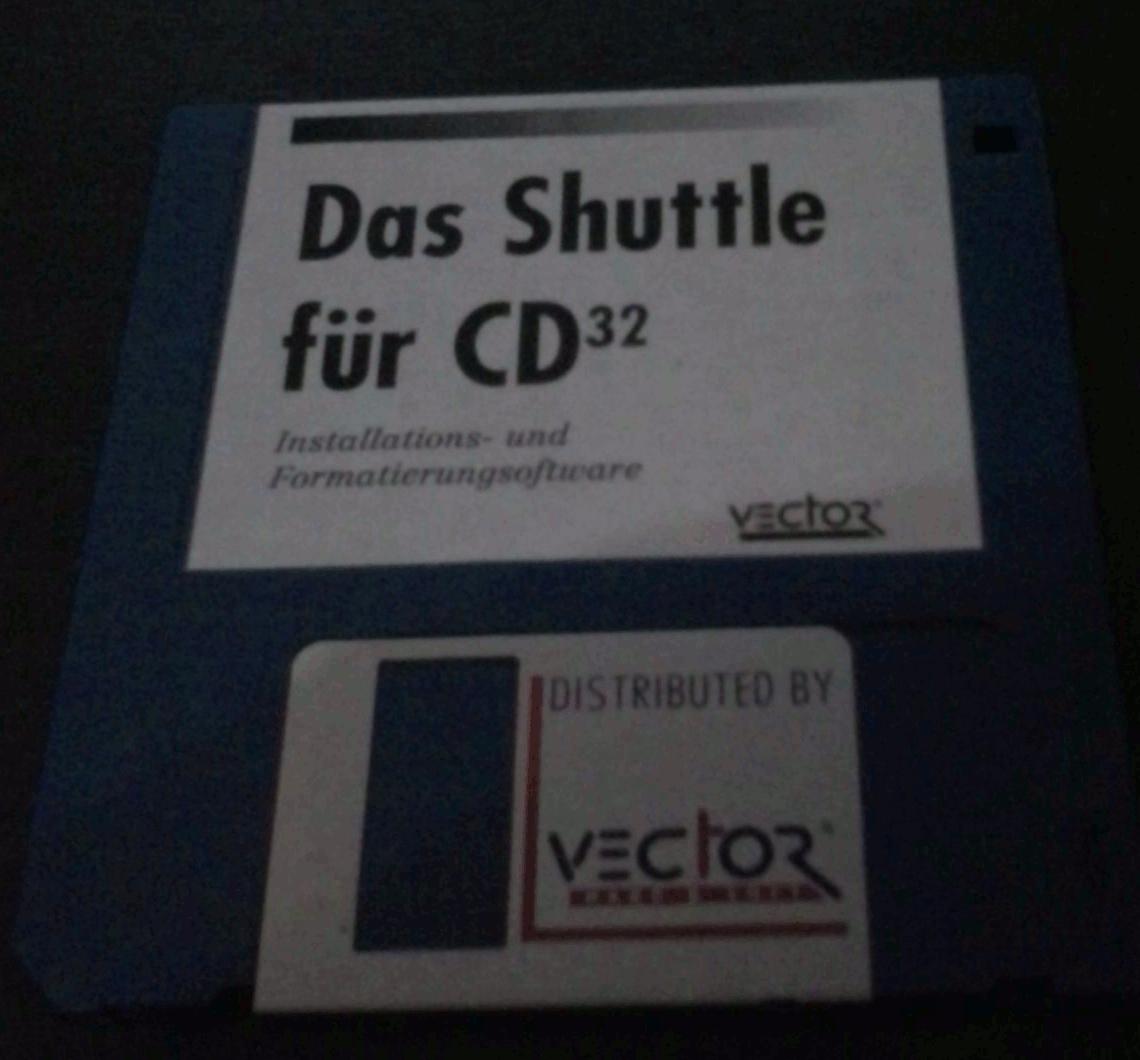CD32 Disk