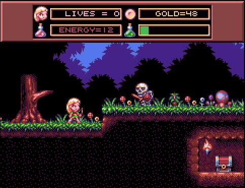 A Work-In-Progress screenshot of a game I'm making