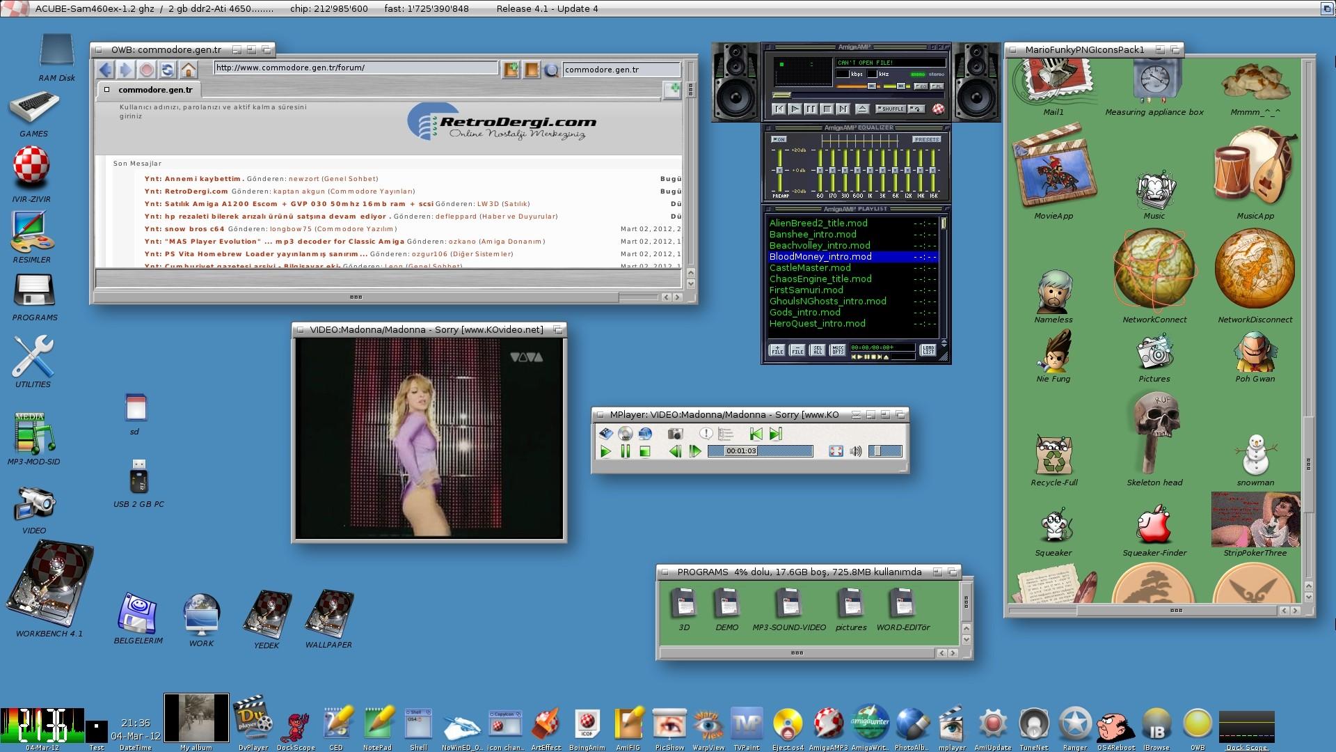 AMİGAOS 4.1 UPDATE 4 + SAM460EX