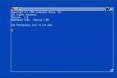 Workbench 1.0 starting up