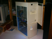 A4000D in Tower case with custom side window #2