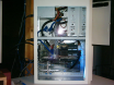 A4000D in Tower case with custom side window #3