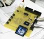 Floppy emulator: prototype PCB