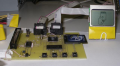 Floppy emulator: assembled, startup logo