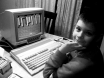 Son playing on the A500