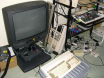 A1200 and CD32 waiting to be wheeled out for multiplayer fun....