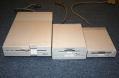 The Three Floppy Drives