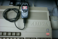 Stock Amiga 500 connected to GPRS